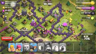 Clash of Clans - Stealing The Loots - Attack With Max Golems