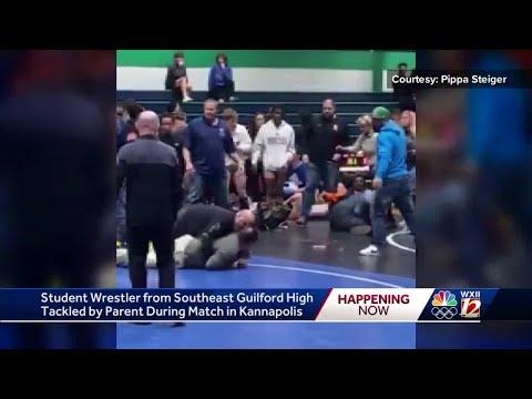 Thor - Dad tackles high school wrestler during wrestling match!