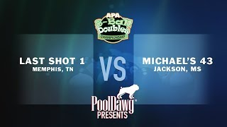 2018 APA 8-Ball Doubles Final - Michael