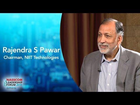 Rajendra S Pawar,Chairman, NIIT Technologies