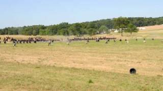 Gettysburg Re-enactment--the shooting begins