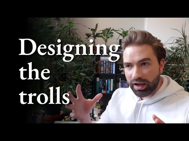 Designing the 'look' of the trolls