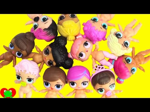 L.O.L. Dolls Dress Up