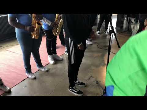 Trombone Shorty Foundation Kids at Industry City in Brooklyn