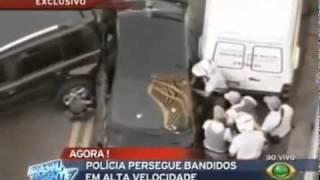 Perseguição ao Vivo em São Paulo no Datena - Brasil Urgente - Band - 08/10/2010