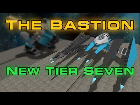 NEW Tier 7 Ship - The BASTION - Starblast.io
