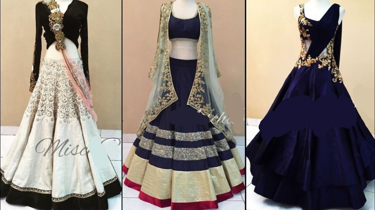 Latest Indian Style Party Gown Design Ideas/Beautiful Gown