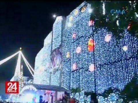 Pagpapailaw sa mahigit 40-ft. Christmas tree, nagpaningning sa city hall