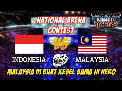 Ini Baru Hero Spesialis Curi Lord Bikin Kesel Malaysia vs Indonesia National Arena Contest 2017