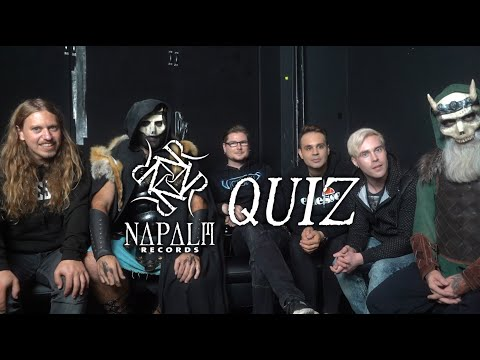 MAJESTY, WARKINGS, VICTORIUS - Napalm Quiz | Napalm Records