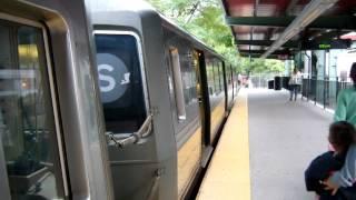 NYC Subway:Franklin Av bound R68 S train at Park Place