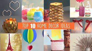 TOP 10 HOME DECOR IDEAS | HOME DECOR | WALL DECOR