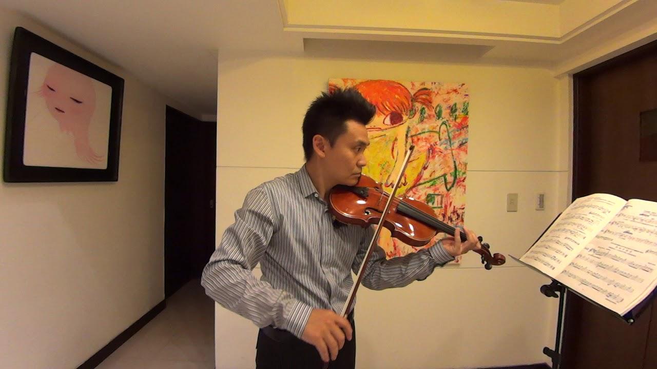 第一冊少年篠崎小提琴教本NO.143(張桀瑋小提琴教學示範演奏) - YouTube