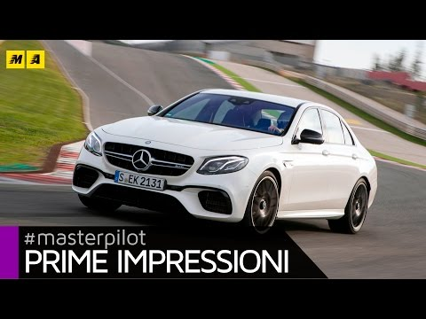 Mercedes AMG Classe E 63 S 4matic+ 612 CV | Primo test [ENGLISH SUB]