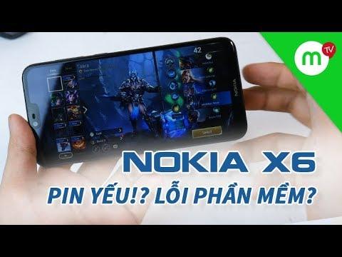 Sự thật tin đồn Nokia X6 pin yếu, nhiều lỗi !? Đánh giá Pin và chơi Liên Quân
