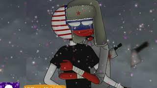 Клип про Америку и Россию CountryHumans