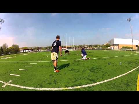 Freshman Kicker Milan Dosen