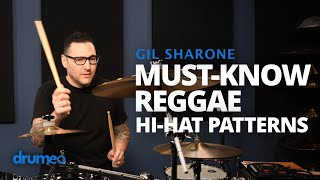 13 Essential HiHat Patterns For Reggae Grooves  Gil Sharone