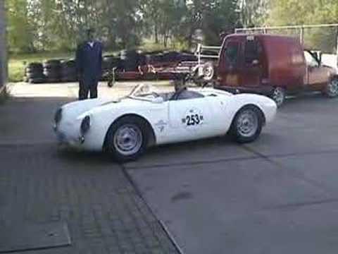 Original Porsche 550 Spyder Youtube