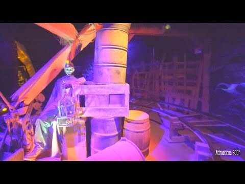 Haunted Mine Car Dark Ride - Knoebels Amusement Park - Black Diamond
