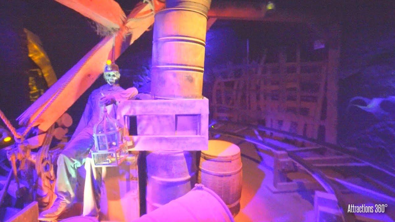 Haunted Mine Car Dark Ride - Knoebels Amusement Park - Black Diamond
