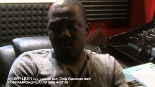 VALERY LEZIN Talks About GAZZMAN DISIP's Upcoming CD! (Mar 2016)!
