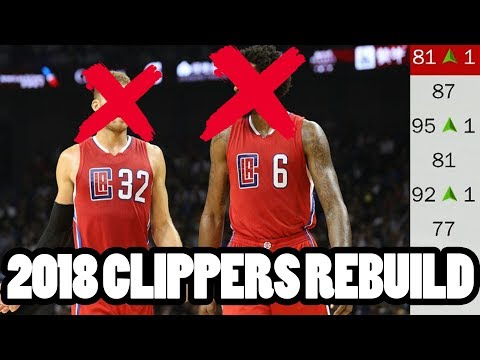 NEW LOOK! BEST OFF-SEASON! 2018 Clippers Rebuild