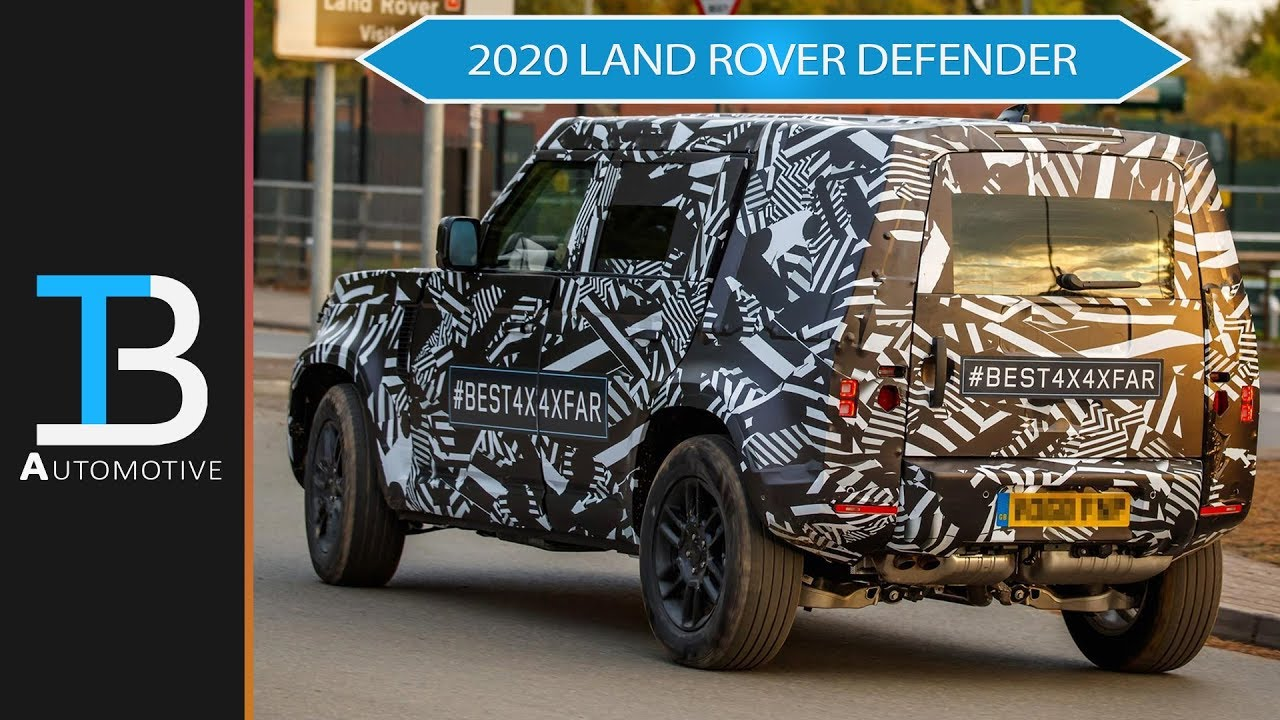 Everything We Know About the 2020 Land Rover Defender - Price, Models, &  Pictures