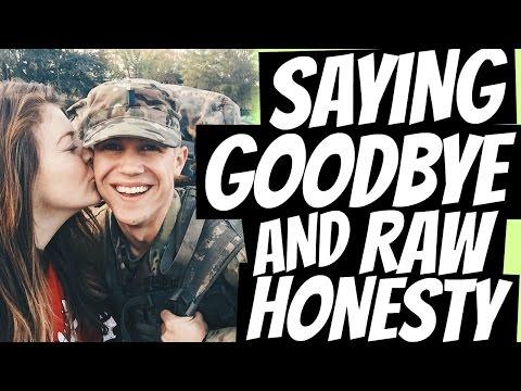 Saying Goodbye & Raw Honesty