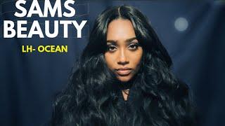 Brazilian Human Hair Blend Lace Front Wig LH-OCEAN | SAMSBEAUTY