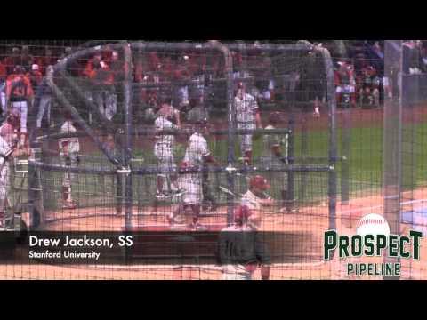 Drew Jackson Batting Practice Video, SS, Stanford University