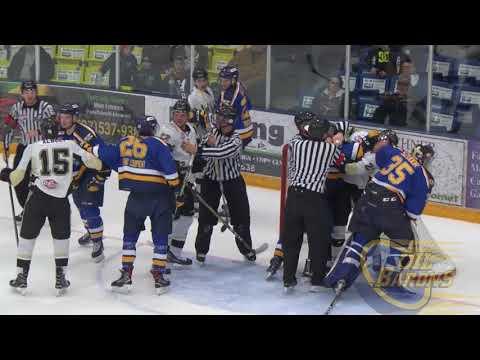 Fort McMurray Oil Barons vs Bonnyville Pontiacs Game 1 best of 5 8/3/18