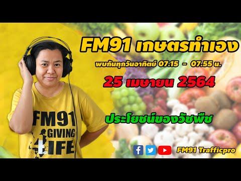 ประโยชน์ของวัชพืช : FM91 เกษตรทำเอง : 25 เมษายน 2564