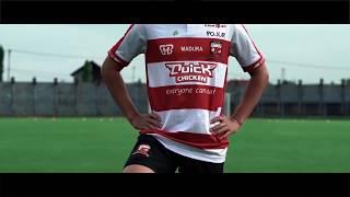 Wajah Baru Jersey Madura United 2018