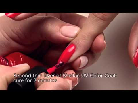 CND Shellac Application Tutorial