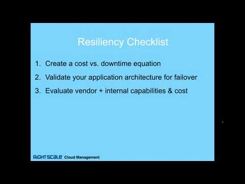 RightScale Webinar  Plan for Failure  How to Avert Disaster With a Cloud Strategy clip6
