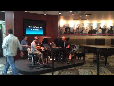 Yates McKendree & friends at Nashville International Airport