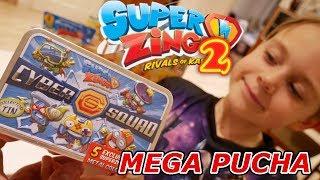 MEGA PUCHA CYBER SQUAD! UNIKATOWE FIGURKI SUPER ZINGS 2