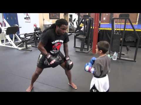 Dewey Cooper Complete Training Lesson With Amateur Boxer