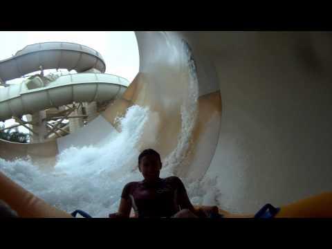 Tantrum Alley POV Wild Wadi Water Park Proslide Water Slide Dubai UAE