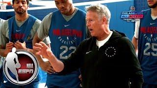 76ers' Brett Brown gets mic'd up for practice | Philadelphia All Access | ESPN