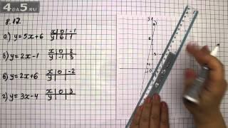 Упражнение 8.17. Алгебра 7 класс Мордкович А.Г.