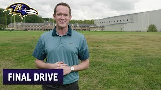 Justin Tucker Simulates Heinz Field in Ravens' Backyard   Ravens Final Drive