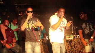 RU SPITS AND Q BANGZ PERFORM @PYRAMID NYC W/ DJ KAY SLAY