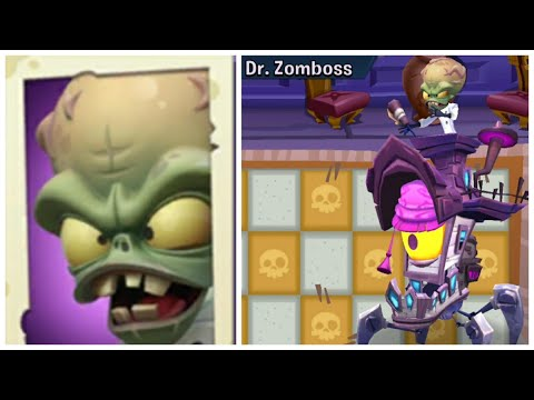 Plants Vs Zombies 3: Dr ZomBoss Brain BattleZ