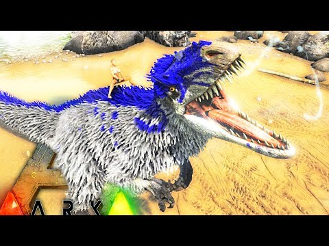 ARK Survival Evolved - YUTYRANNUS VS REX, HOW TO TAME & YUTY SPECIAL ROAR, UPDATE 258 ( Gameplay )