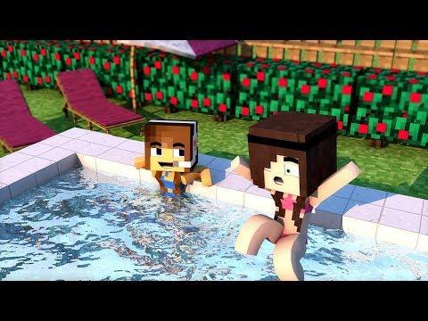Minecraft: FAZENDINHA #20 - A PISCINA MAIS INCRÍVEL!!  | FLOKIIS |