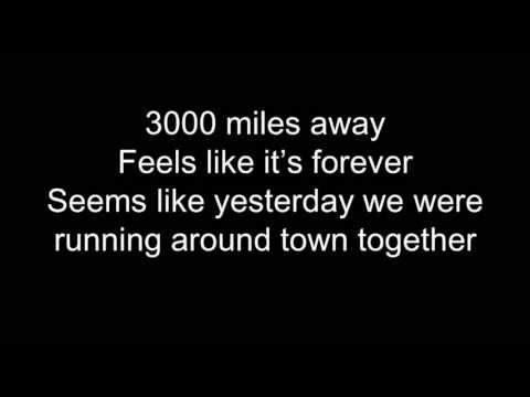 3000 Miles - Emblem3 (Lyrics)