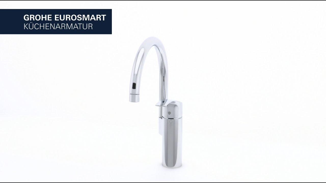 GROHE Eurosmart Neu Küchenarmatur – hoher Auslauf und wählbarer ...
