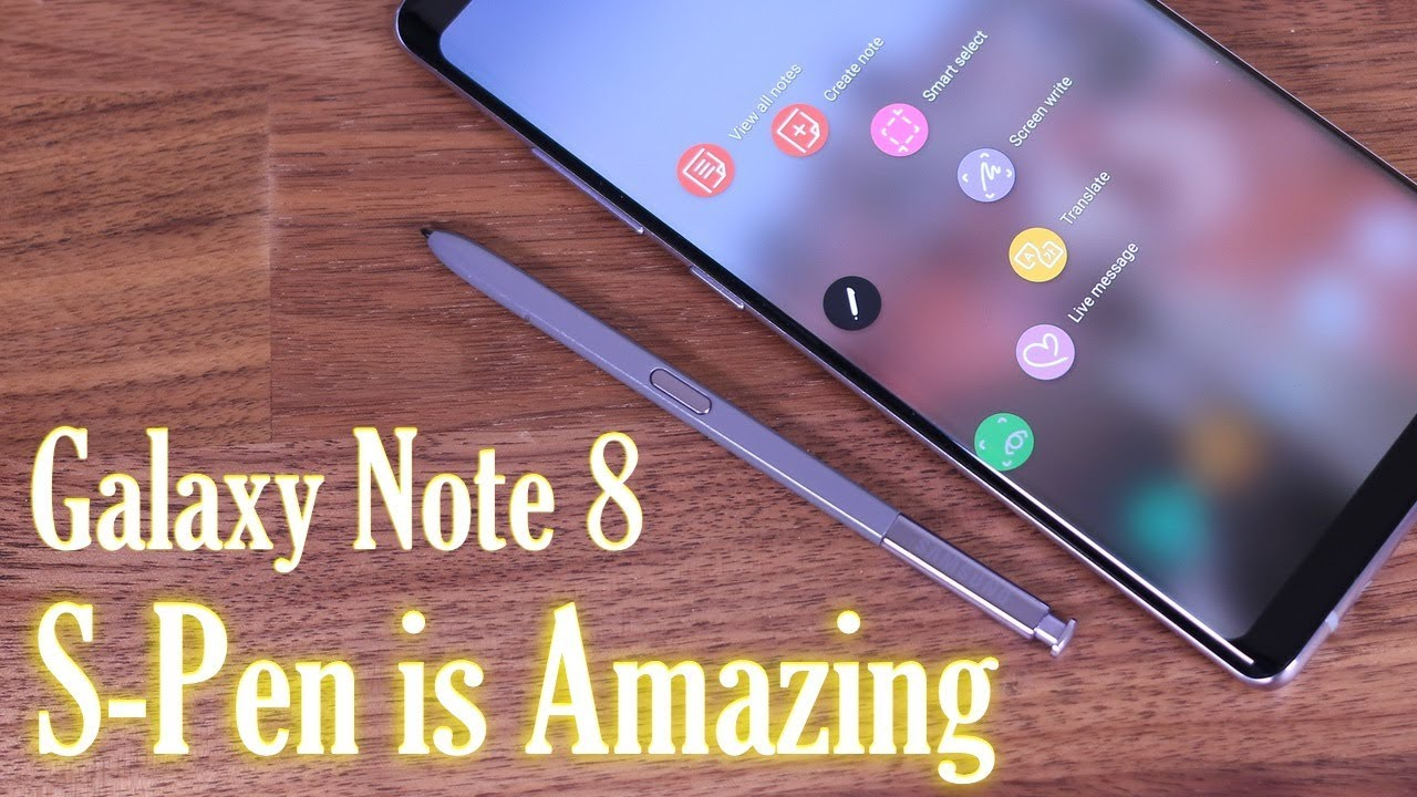 galaxy note 8 full s pen tips tricks features that no one will show you  [ 1280 x 720 Pixel ]